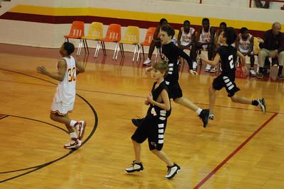 MS basketball at Collins Riverside
