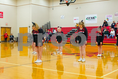 CMS BB Cheer Area Tourney 1st Rd