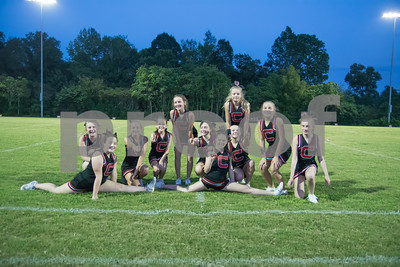 CMS Football Cheer Vs Harpeth Middle