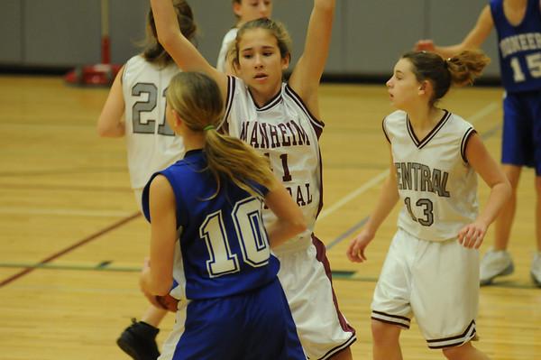 Middle School Girls Basketball 08-09 Season