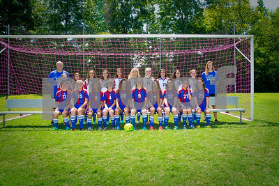 Middle School Girls Soccer 2016