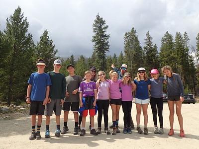 Team Elbert: Middle School Outdoor Ed 2017