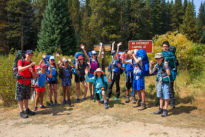 Team Uncle Bud: Middle School Outdoor Ed  2017