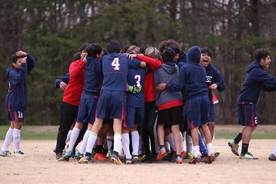 3/27/2018 NAMS vs ATMS Boys Soccer Tournament Semifinal 1