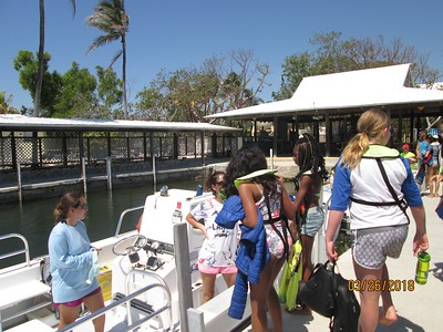 On the way out to the colar reef four our last trip out there on Monday