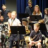 The 7th/8th Grade Jazz Band plays a ballad with solos by Jack Galloway on the trombone and Ruby Moyer on the alto saxophone.