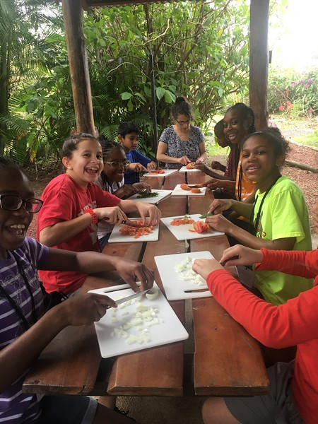 Middle School Costa Rica Trip 2018