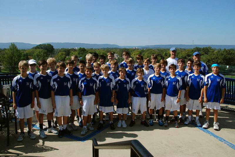 8th Grade Tennis
