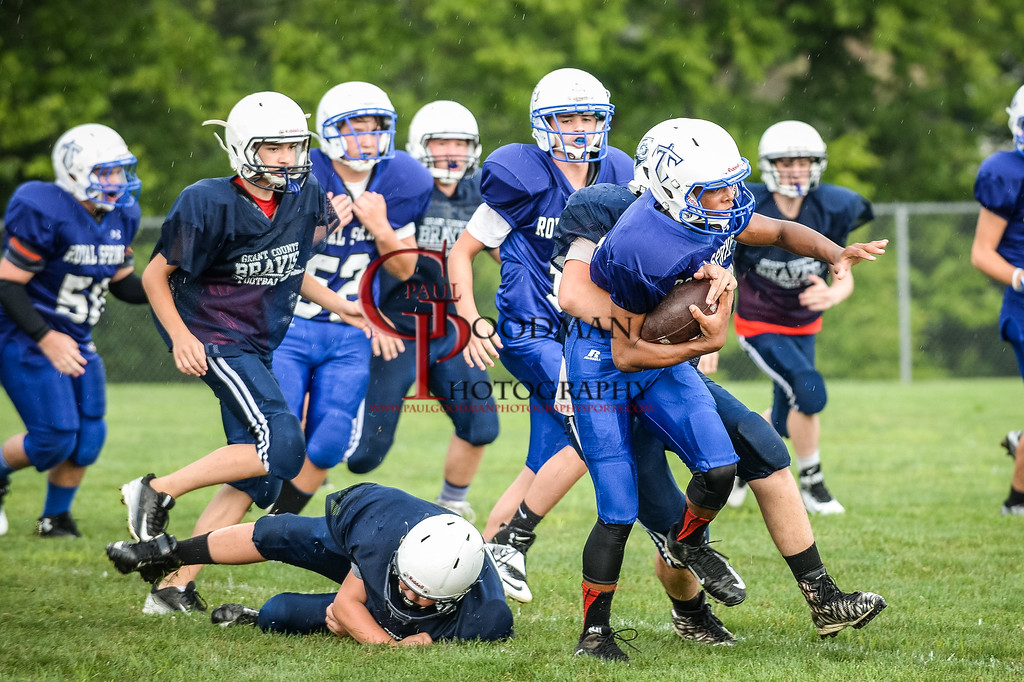 Middle School scrimmage