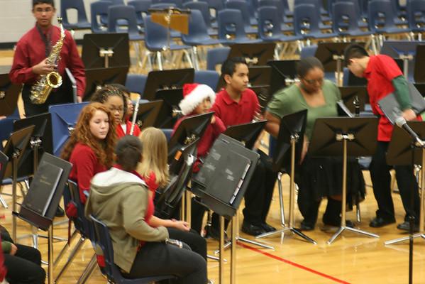 Danny Jones Middle School Band Concert