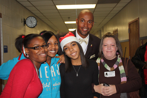 T.A. Howard Middle School Bring Your Parent To School Day