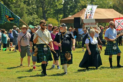 Middle Tennessee Highland Games Clans & Parade Gallery 9/10/16