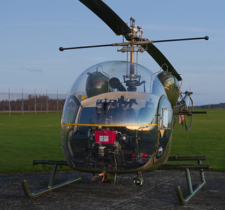 XT131 / G-CICN Sioux, Middle Wallop