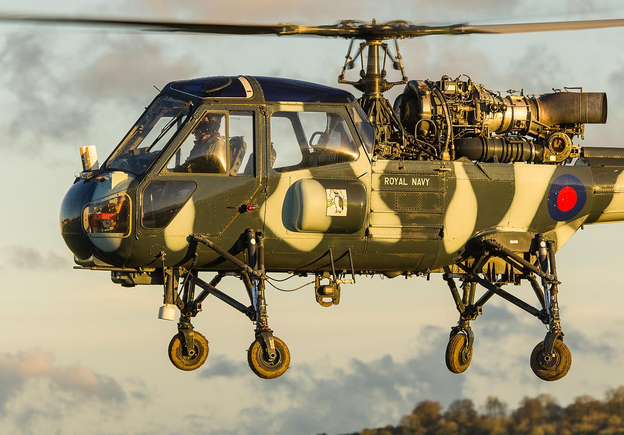 XT787 / G-KAXT Wasp, Middle Wallop