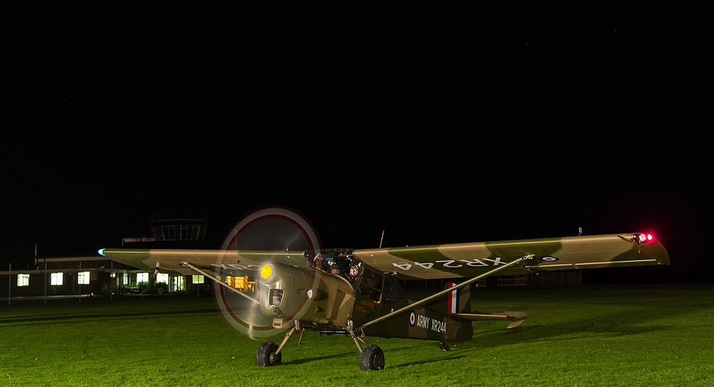 XR244 / G-CICR Auster, Middle Wallop