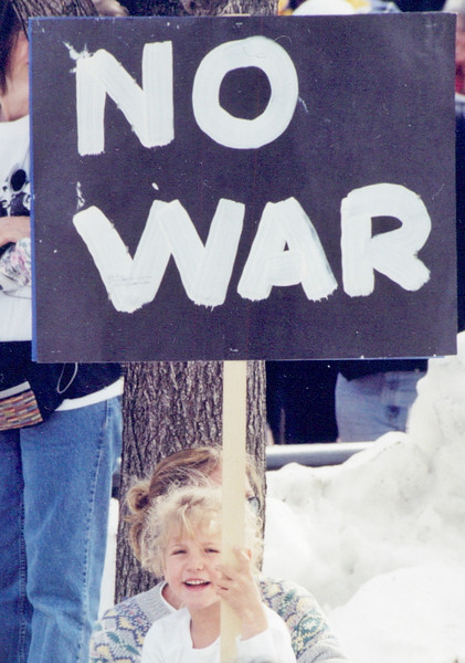 Colorado protests against Iraq war, 2001 & 2002.
