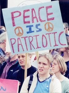 Anti Iraq war protest 2001-02 (3)