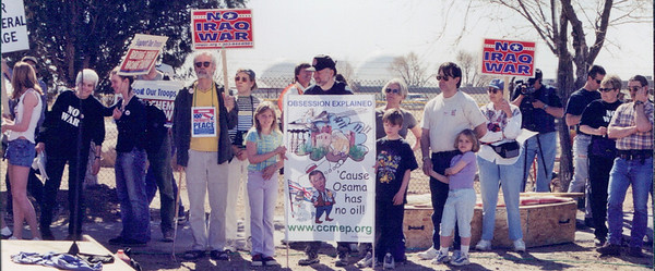 Anti Iraq war protest 2001-02 (22)