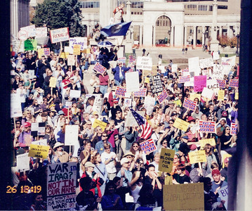 Anti Iraq war protest 2001-02 (13)