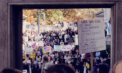 Anti Iraq war protest 2001-02 (14)