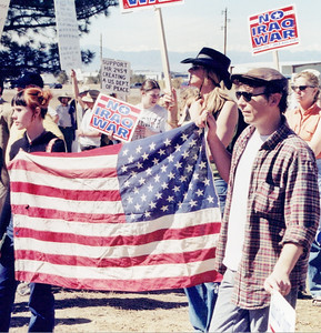 Anti Iraq war protest 2001-02 (23)