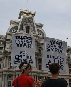 Anti Syria war protest - Philadelphia '13 (26)