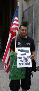 Anti Syria war protest - Philadelphia '13 (13)