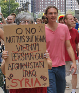 Anti Syria war protest - Philadelphia '13 (19)
