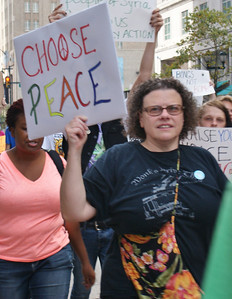 Anti Syria war protest - Philadelphia '13 (8)