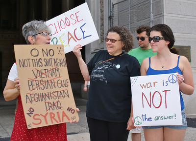 Anti Syria war protest - Philadelphia '13 (20)