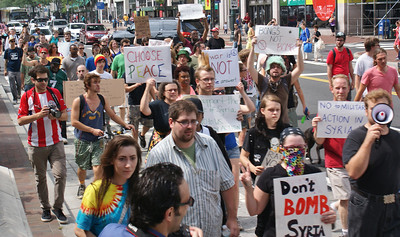 Anti Syria war protest - Philadelphia '13 (3)