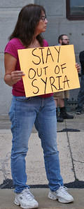 Anti Syria war protest - Philadelphia '13 (14)