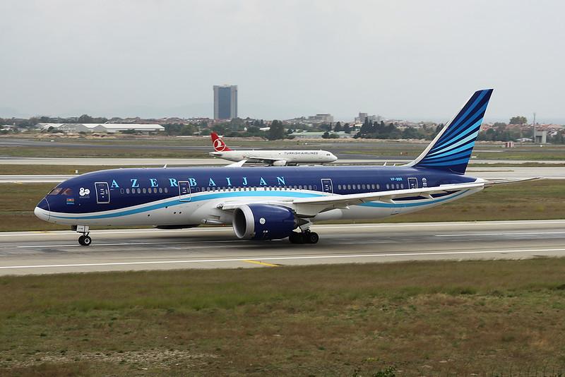 "VP-BBR Boeing 787-8 ""Azerbaijan Airlines"" c/n 37920 Istanbul - Ataturk/LTBA/IST 11-10-18"