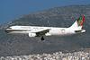A4O-EI Airbus A320-212 c/n 0459 Athens-Hellenikon/LGAT/ATH 22-09-00 (35mm slide)