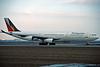 "A4O-LD Airbus A340-312 ""Gulf Air"" c/n 097 Frankfurt/EDDF/FRA 01-02-97 ""PAL c/s"" (35mm slide)"
