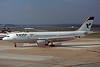 "EP-IBA Airbus A300B4-605R ""Iran Air"" c/n 723 Hamburg-Fuhlsbuttel/EDDH/HAM 17-09-95 (35mm slide)"