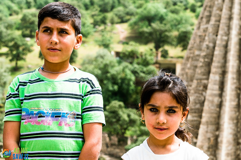 Yazidi brother and sister