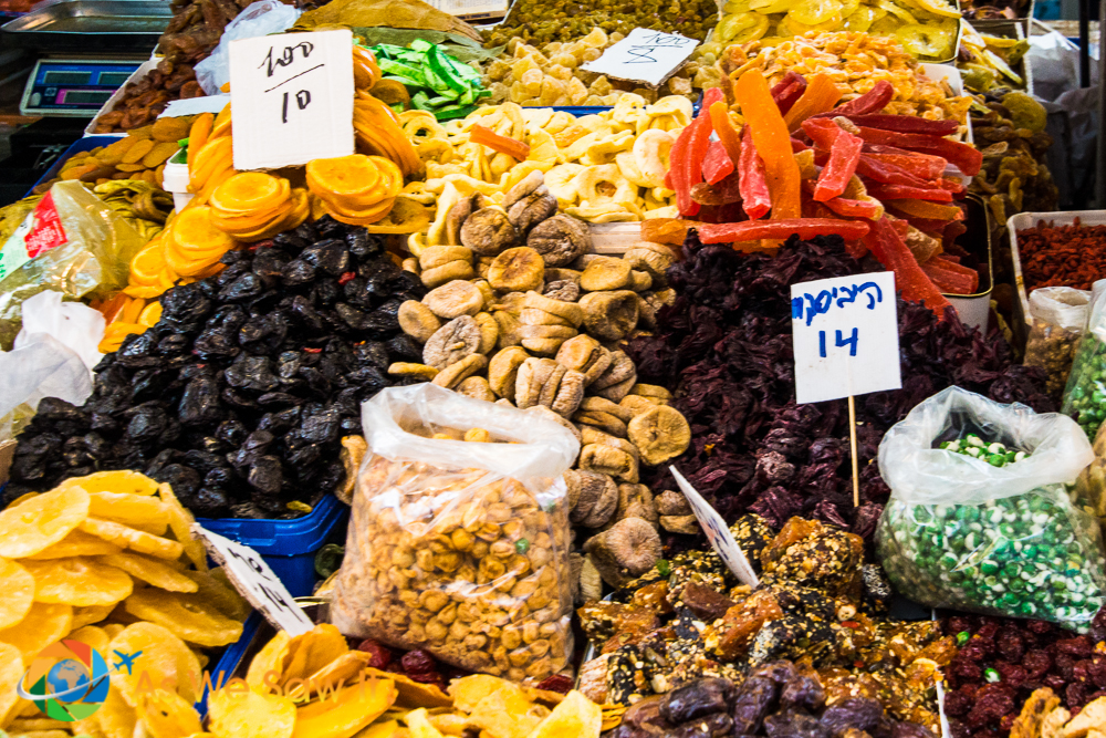 More variety of dried fruits
