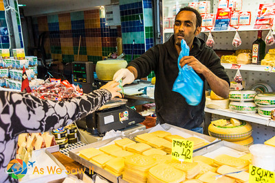 Even sliced cheese, just not available with any meat in Israel.