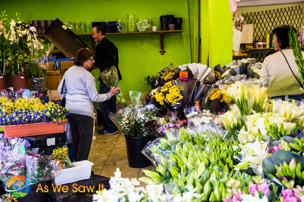Even a flower shop