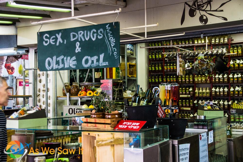 Sex Drugs Olive Oil