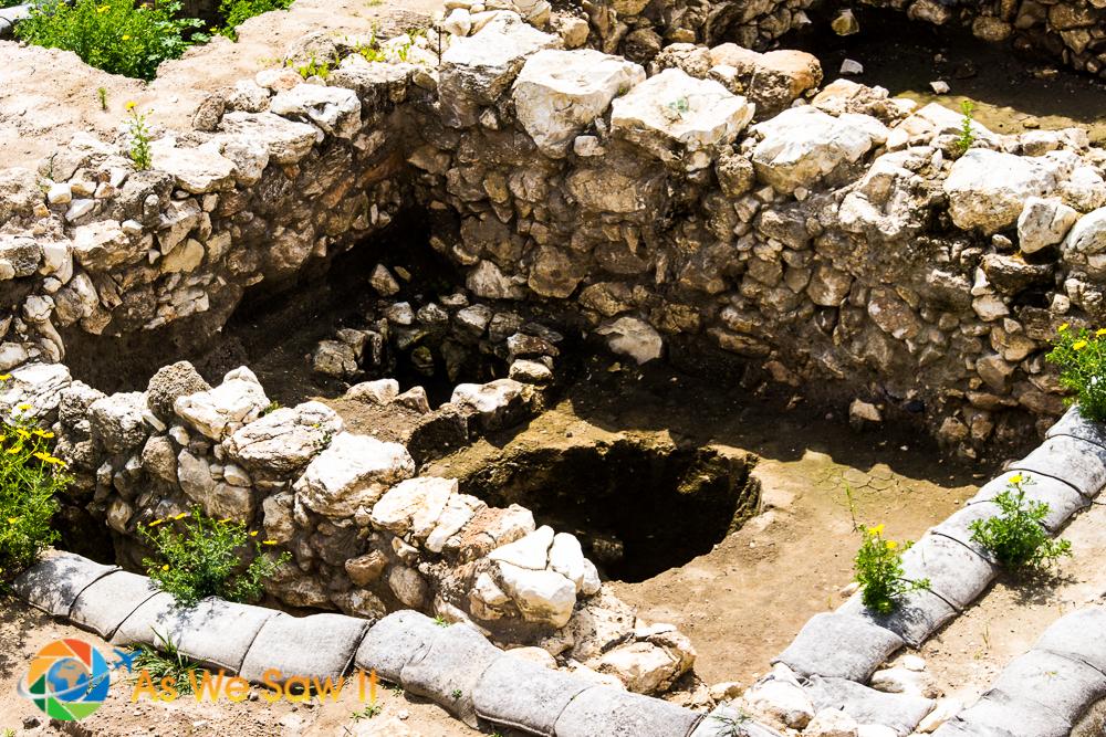 Mikveh inside old home