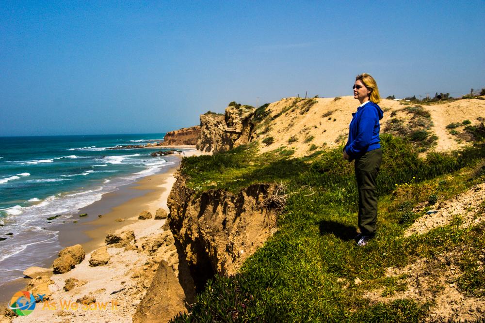 Netanya, Israel and the Mediterranean Sea.