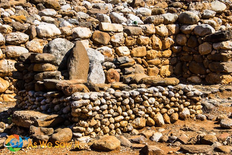 stone platform where the judges sat