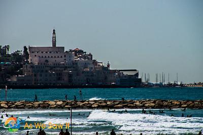 View from Tel Aviv