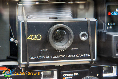Polaroid 420 camera amond other in the collection