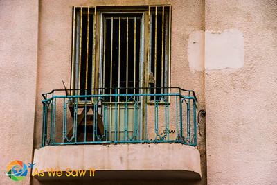 Balcony on Hess Rd.