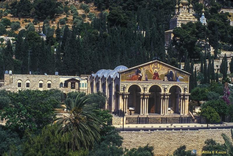 Garden of Gethsemane / Church of Mary Magdalene<br /> Jerusalem, Israel