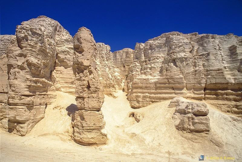 Gypsum Valley<br /> Ammi'az Plateau, Sodom, Israel