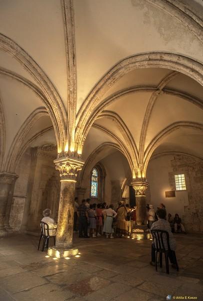 Room - Jesus Last Supper<br /> Dormination Abbey, Jerusalem, Israel